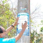 La medida servirá para garantizar la reproducción de la especie en las costas del país. Ayer iniciaron la colocación de letreros con la prohibición en playas de La Unión. Foto EDH / insy mendoza