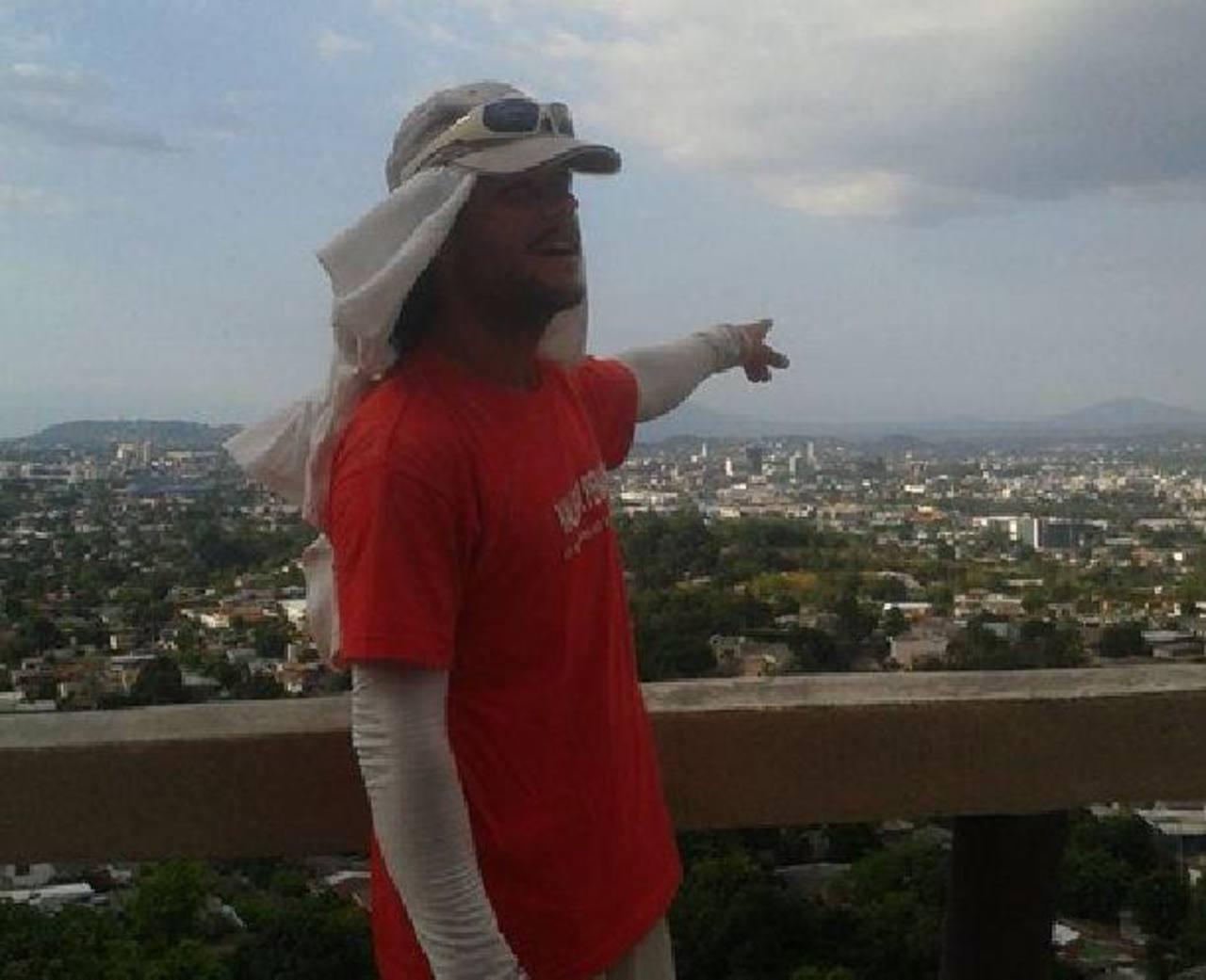 Imagen del 3 de mayo, fecha en que Ignacio Dean llegó a San Salvador.