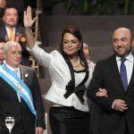 Admiten trámite para retiro de inmunidad a vicepresidenta de Guatemala