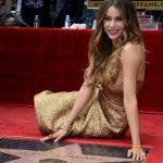 Sofía Vergara devela su estrella en Hollywood