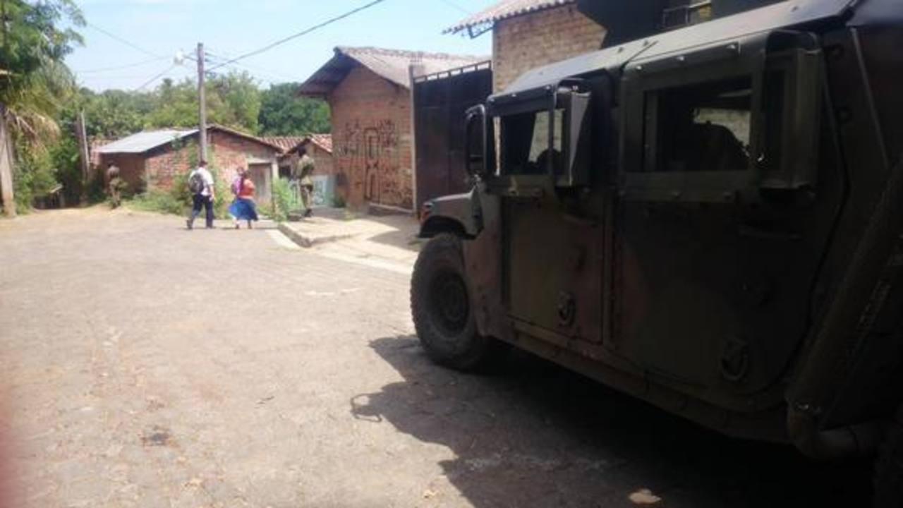 Militares y PNC realizan fuerte operativo en Usulután