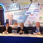 El exalcalde de Nueva York, Rudolph Giuliani, durante la conferencia de prensa previo al Enade.