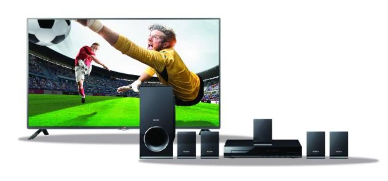 """El Banco premiará a 10 clientes y cada uno se llevara: 1 TV LED de 42"""" + DVD Player + Sonido Multicanal de alta calidad. Foto EDH / Cortesía"""