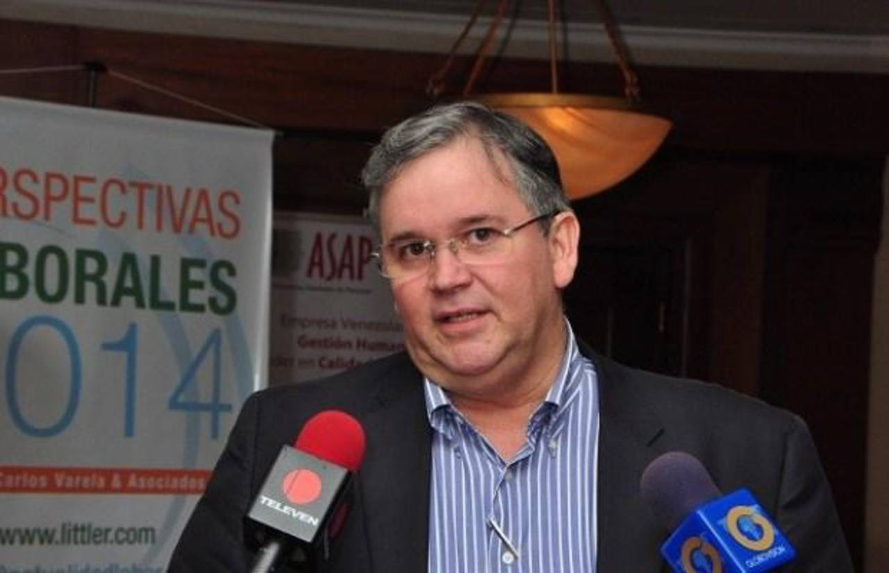 Francisco Martínez, vicepresidente Federación de Cámaras y Asoc. de Comercio y Producción de Venezuela. Foto EDH/ Internet