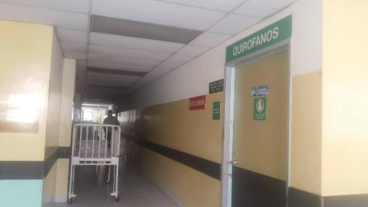En la segunda planta del hospital Bloom hay seis salas de cirugía. Foto EDH /Yamileth Cáceres