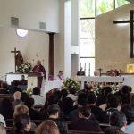 Entierran a rector de la Universidad Don Bosco