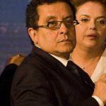 El publicista Joao Santana junto a la presidenta de Brasil, Dilma Rousseff, durante un debate televisivo. foto tomada de O Globo.com