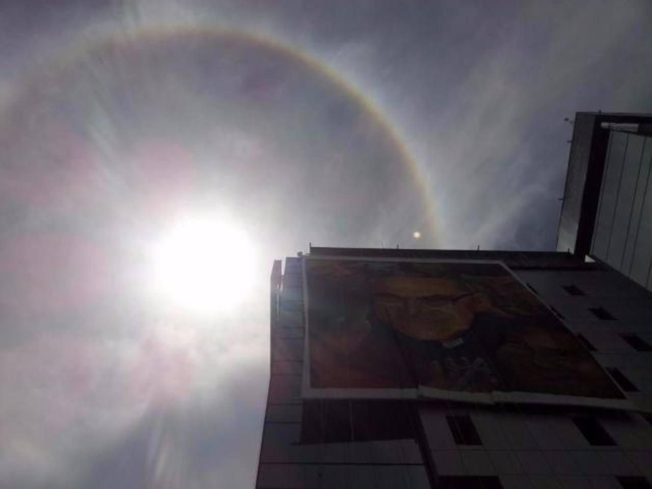 Halo solar adorna beatificación de Monseñor Romero