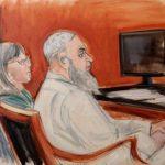 El terrorista saudí Jalid Al Fawaz, durante el juicio ayer . foto edh / ap