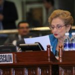 La diputada de ARENA, Carmen Elena Calderón de Escalón, criticó que el Gobierno tiene varios préstamos sin usar. Foto EDH