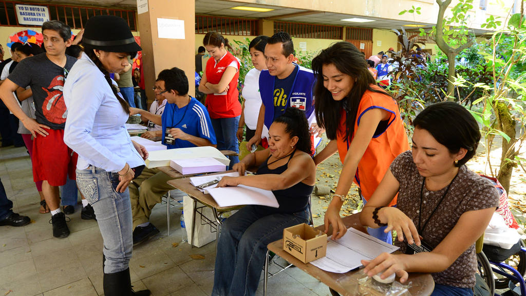 Ambiente elecciones