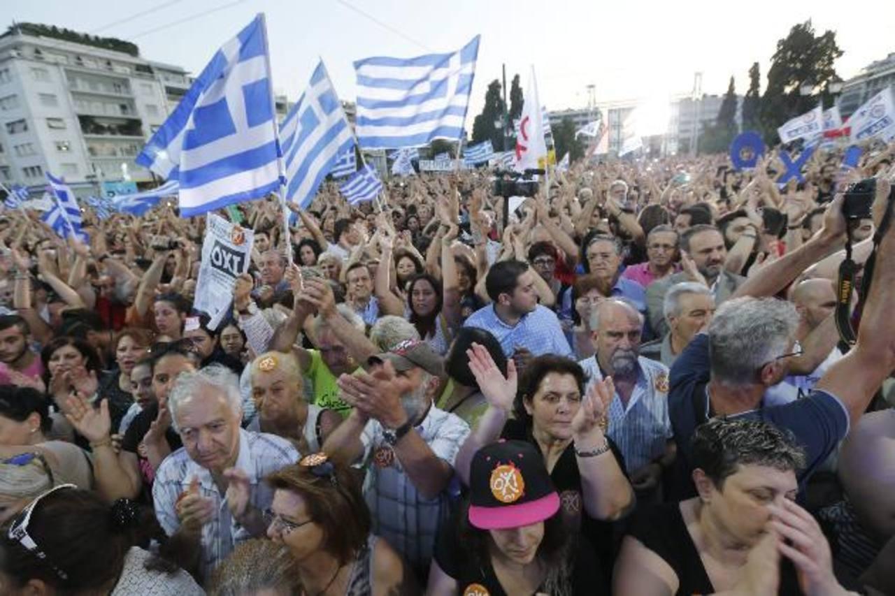 Actualmente, el país heleno atraviesa una crisis económica agobiante.