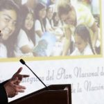 El ministro de Educación, Carlos Canjura.