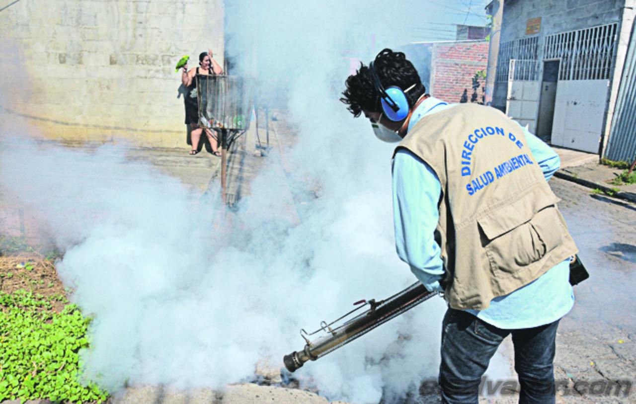 Jornada de combate contra el dengue