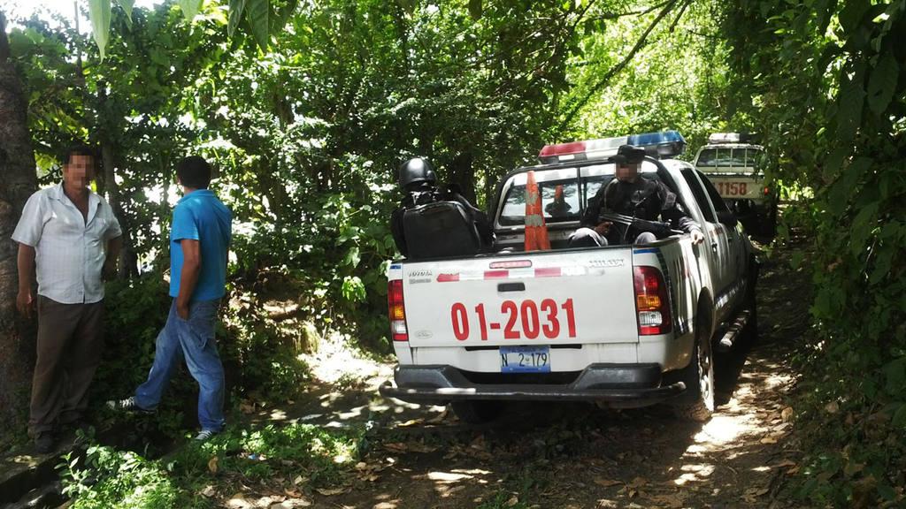 Pandilleros secuestran a policía en San Vicente