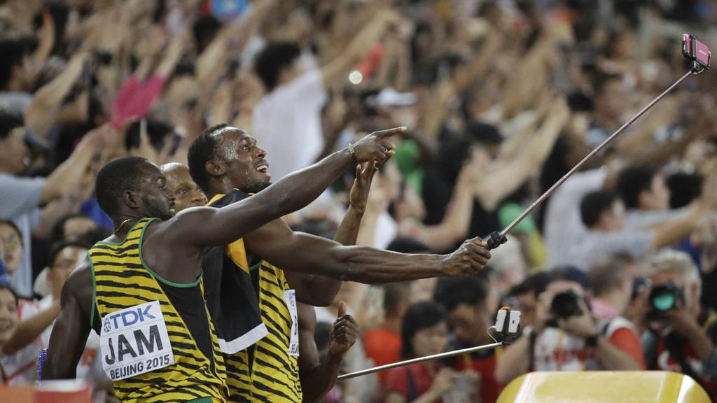 Selfie Usain Bolt