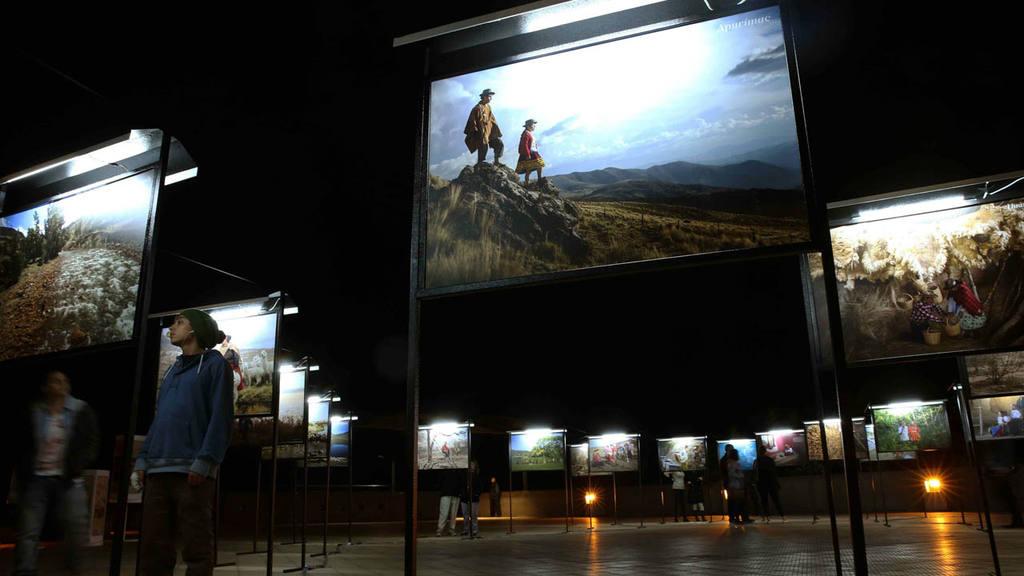 Exposición sobre cambio climático