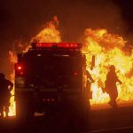 Incendio en EE.UU.