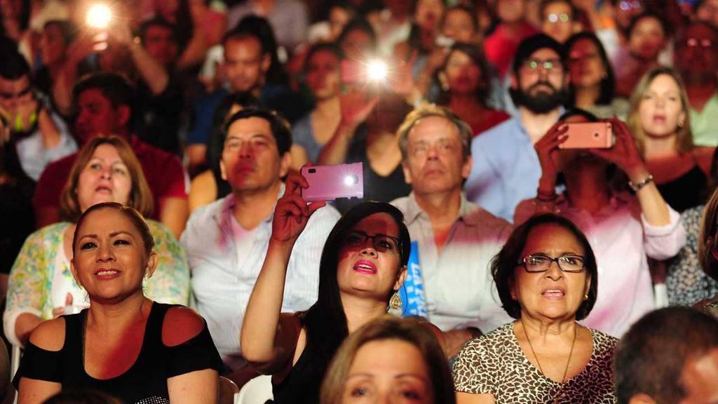 Concierto de Franco de vita en El Salvador. Cifco