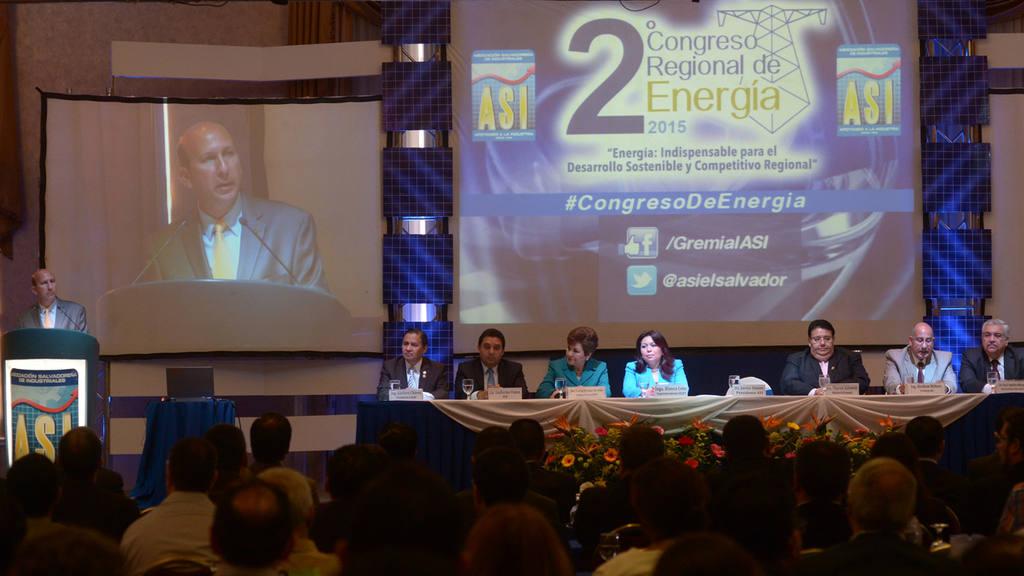 Asociaci?n Salvadore?a de Industriales ASI, Congreso Regional de Energ?a,