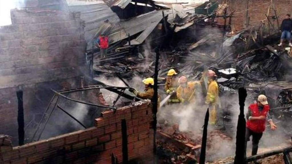 Incendio en cárcel de Palmasola