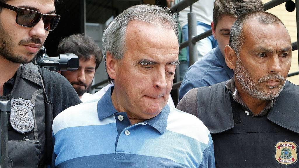 Néstor Cerveró, exdirector del área internacional de Petrobras