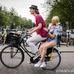 Yellow Backie, transforma el espacio de la bicicleta para maletas en un asiento