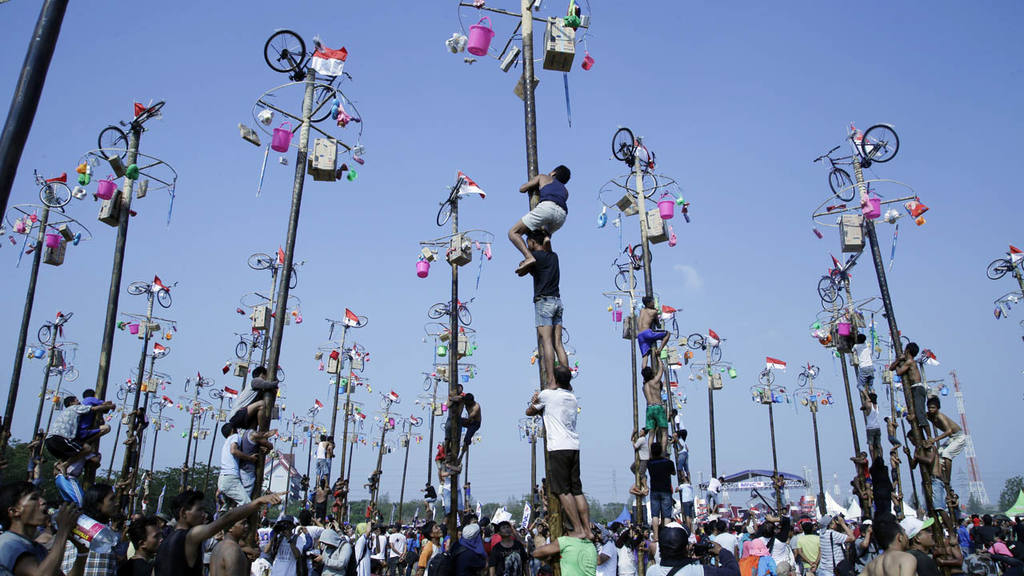 Fiesta en Indonesia