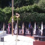Homenaje póstumo de policías caído