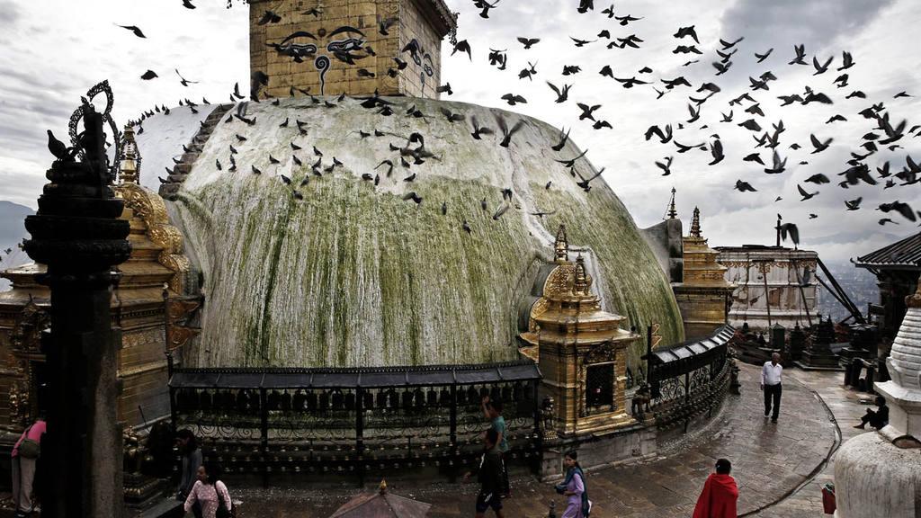 Templo en Nepal