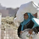 Ola de calor en Egipto