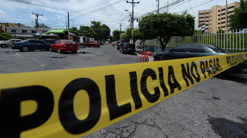 Homicidio cerca del Ministerio de Hacienda