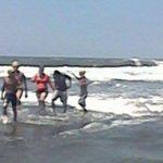 Rescate de turista europeo en plaza Costa del Sol