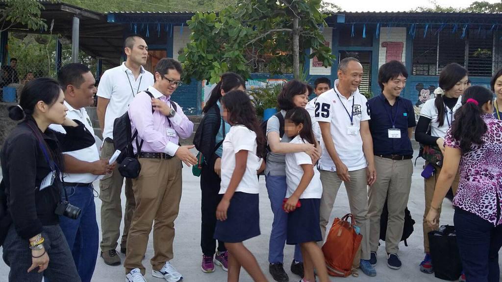 Profesores japoneses visitaron el país