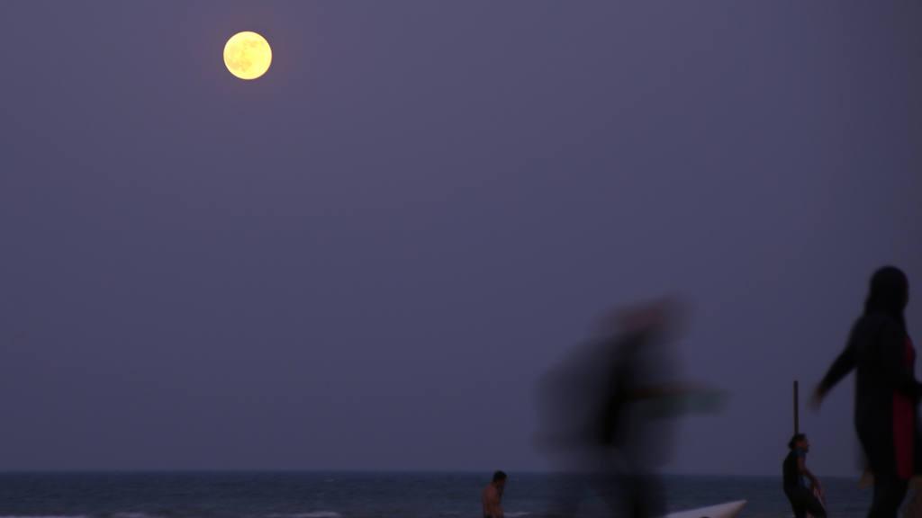 Así se observó la Luna Azul alrededor del mundo