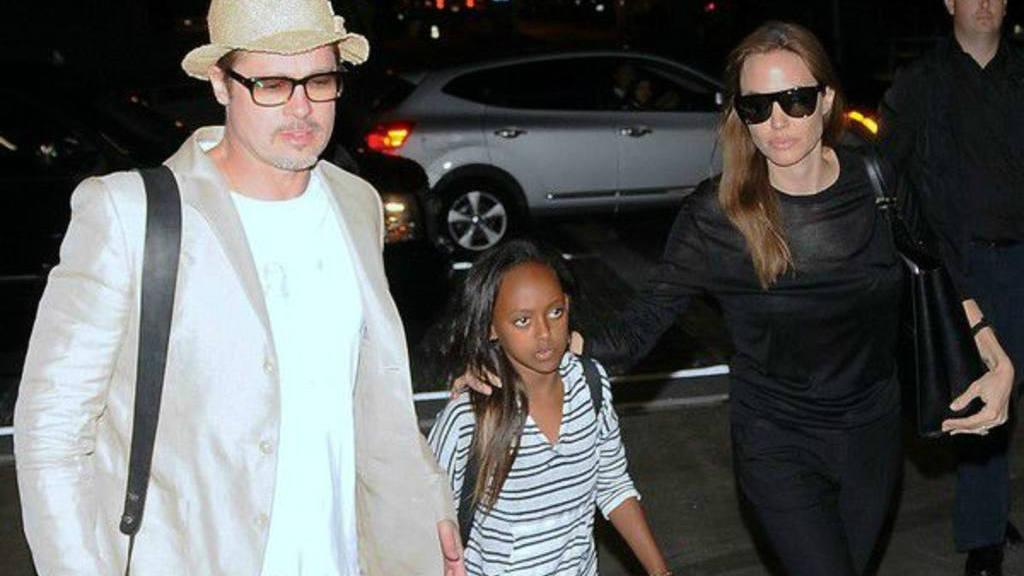 Zahara, hija adoptiva de Angelina Jolie y Brad Pitt, quiere vivir con su madre biológica