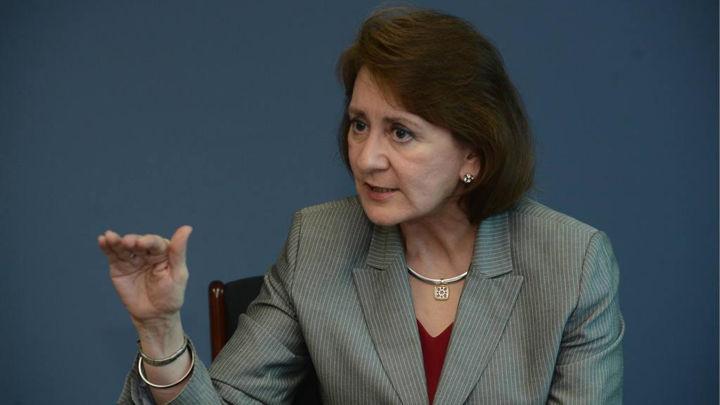 Vilma de Calderon, vicepresidenta de la empresa LACTOLAC