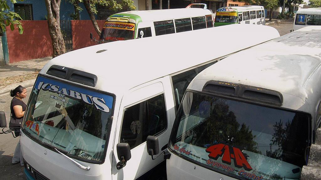 Microbus 41A, Soyapango