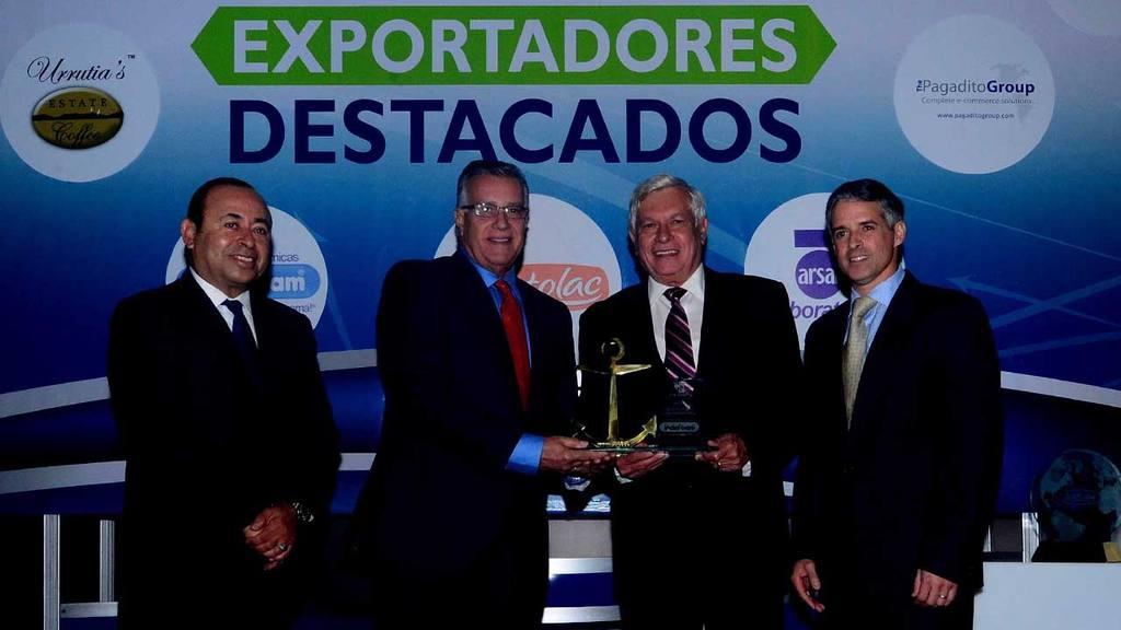 Coexport entregó premios a exportadores destacados