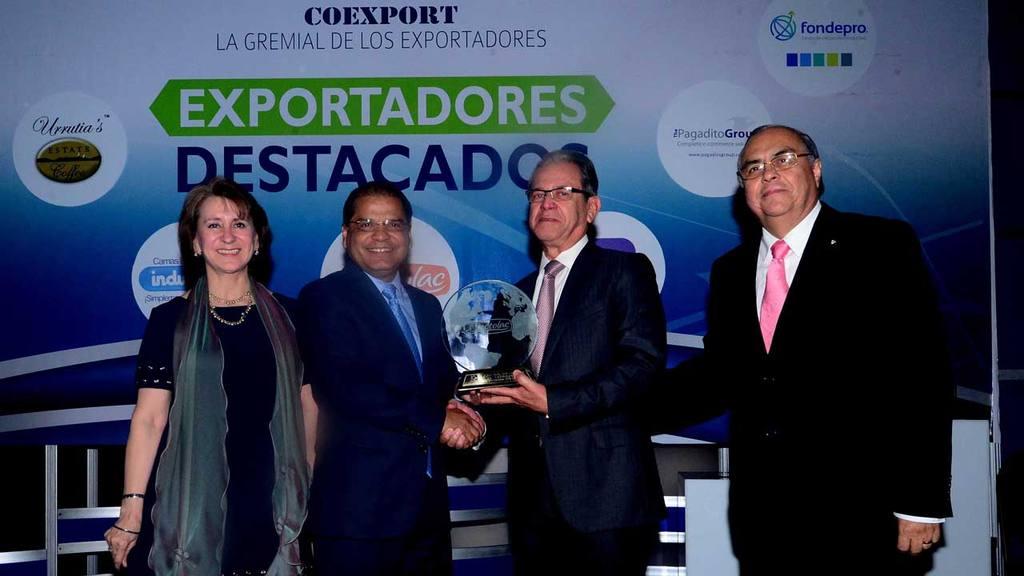 Coexport entregó premios a exportadores