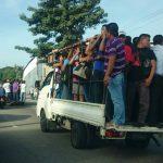 Paro transporte por amenazas de pandillas