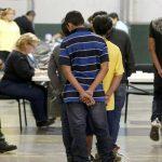 Migrantes en centros de detención