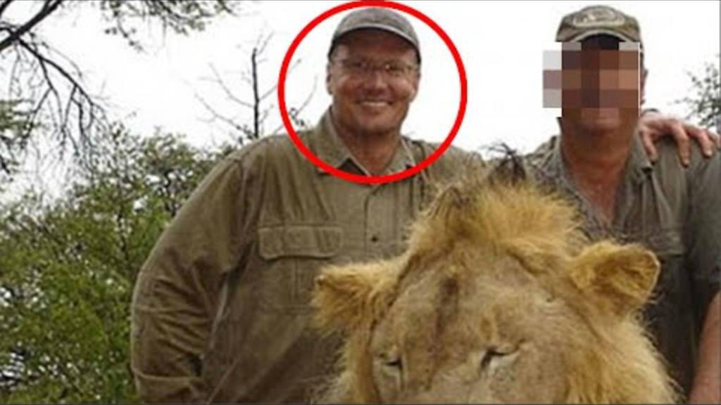 Dentista estadounidense, león Cecil
