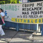 Protesta hospital Bloom