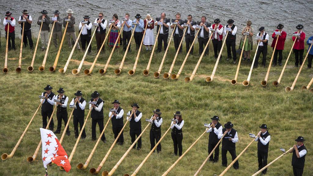 14th international alphorn festival in Switzerland