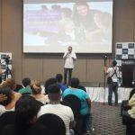 Fundación Telefónica realizó un congreso de educación para enseñar las últimas tecnologías formativas. foto edh / cortesía
