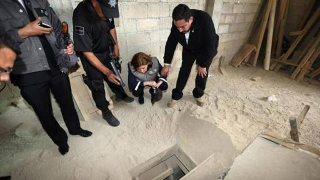 Túnel, chapo Guzmán, México