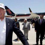 Donald Trump llega a frontera entre EE.UU. y México