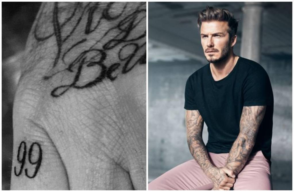 David Beckham estrena tatuaje en honor a su esposa