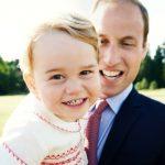 Revelan nueva foto del príncipe George